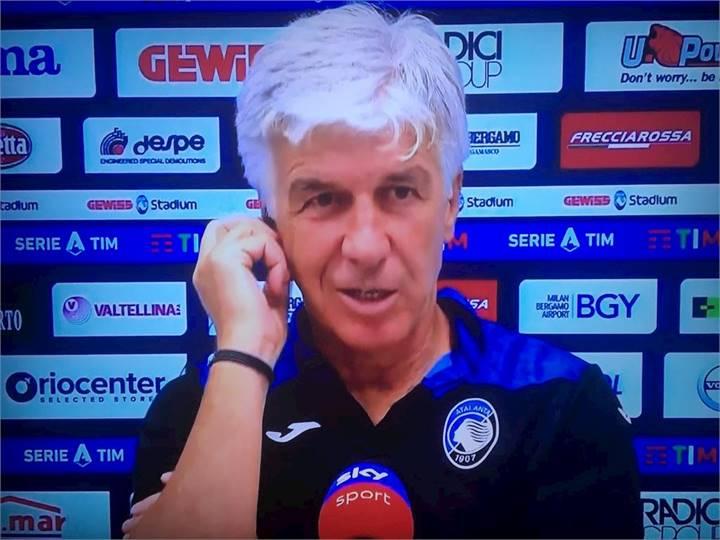 Calcio Atalanta, Gasperini:
